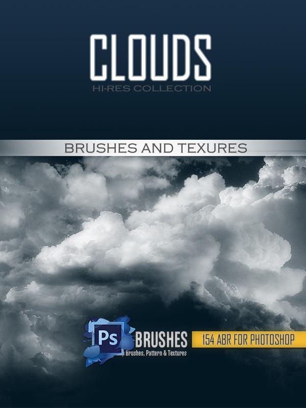 Кисти облака   Тучи   Небо   Clouds   для Фотошопа